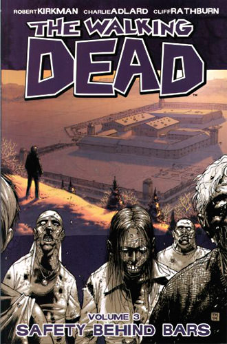 The Walking Dead cover showing