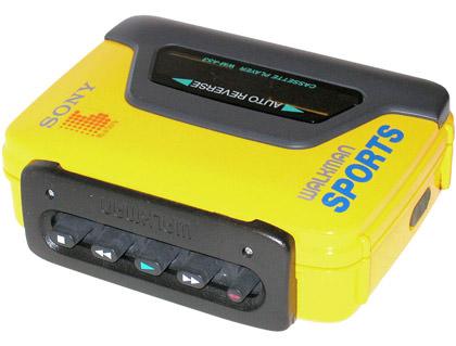 My Yellow Walkman!