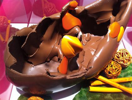 Melted Chocolate Chicken!
