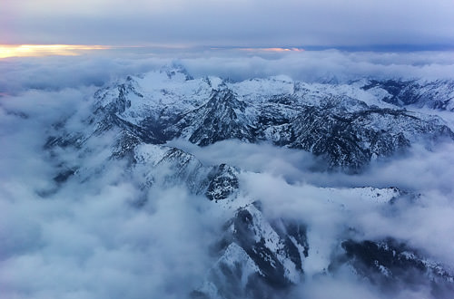 Cascade Mountains Photo