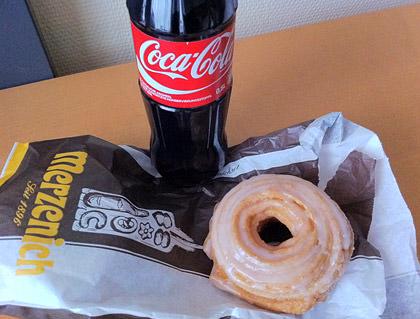 Spritzringe and a Coke