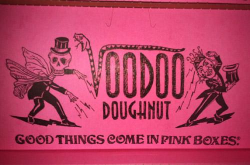 Voodoo Doughnuts Box!