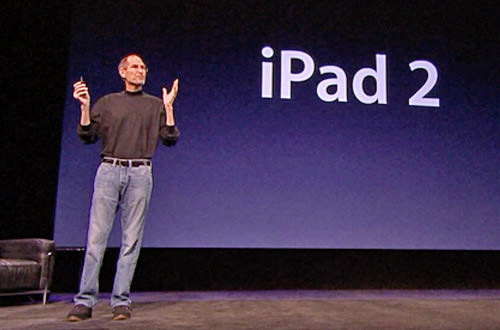 Steve Jobs Introduces Garage Band for iPad!