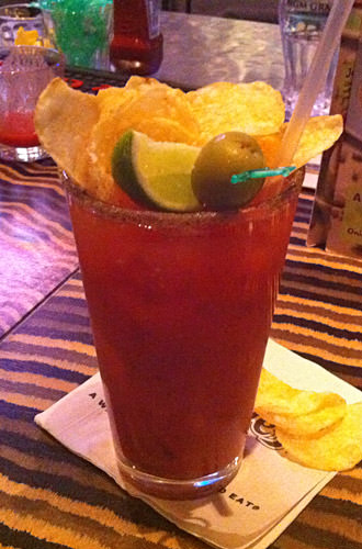 Rainforest Bloody Mary