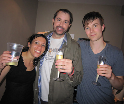 Dave2 with Matt & Kim!