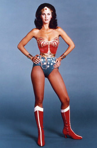 Linda Carter as Wonder Woman.