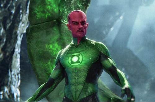 Sinestro Movie Costume