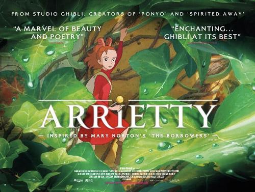 Arietty English Poster Miyazaki