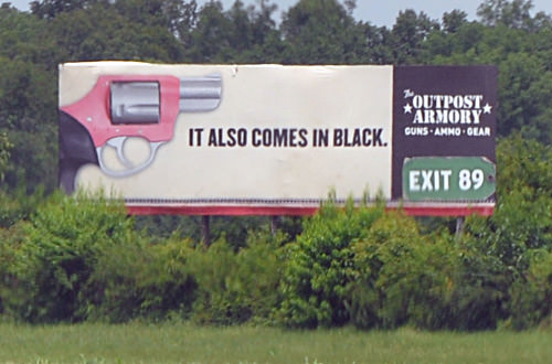 Billboard Pistol