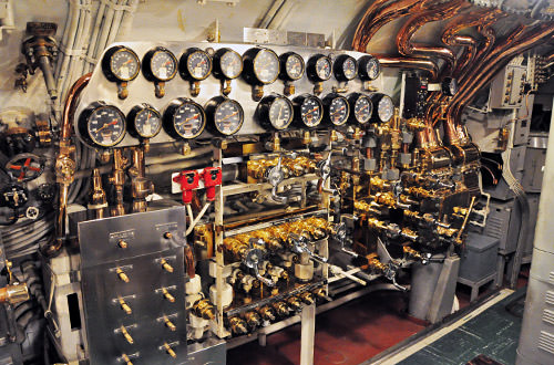 USS Bowfin Interior