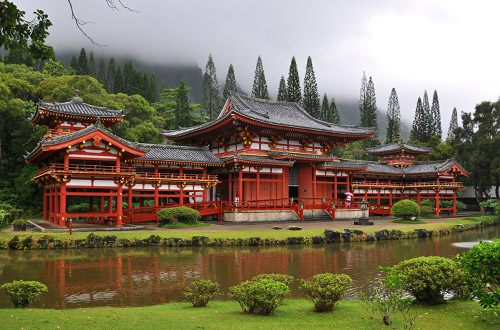 Biyodo-In Temple Oahu, Hawaii