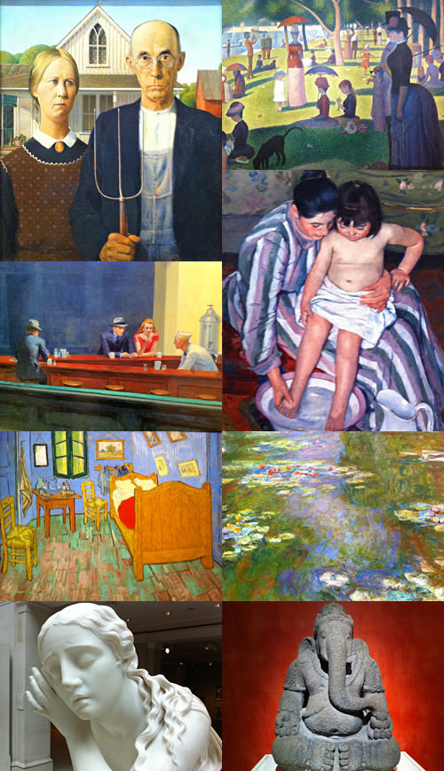 Chicago Art Institute Images