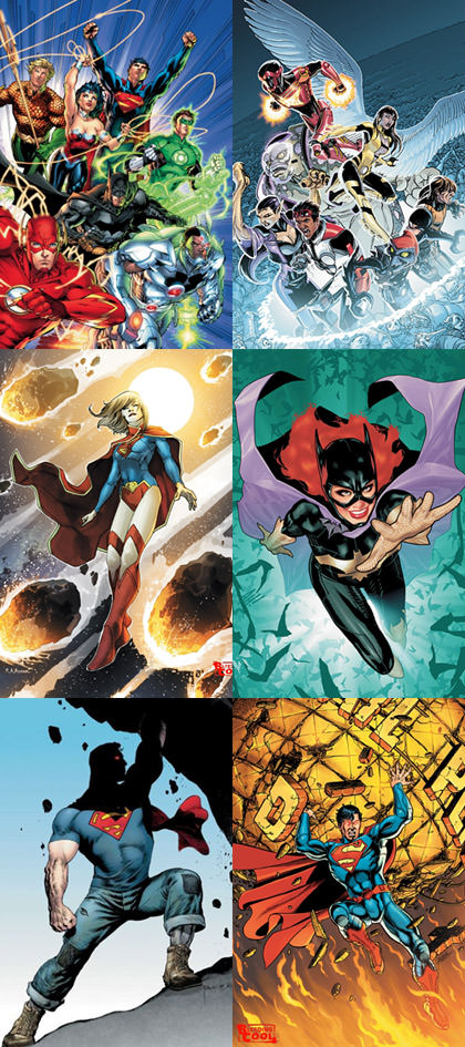 DC Relaunch Titles