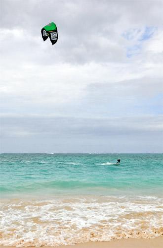 Kailua Beach Para-Surfer