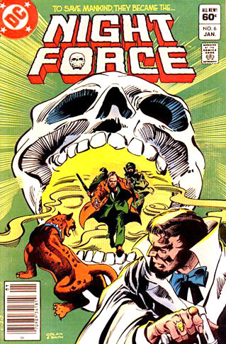 Night Force Comic Cover