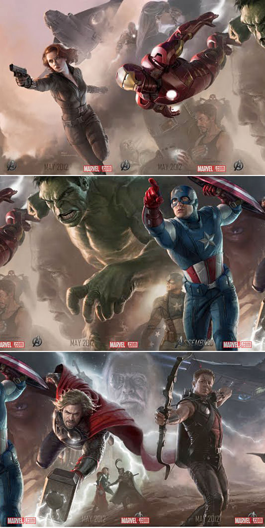 Avengers Movie Posters