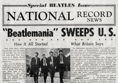 Headline 1964 Beatles in America