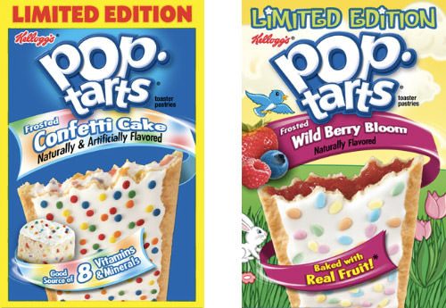 New Pop Tarts: Confetti Cake and Wild Berry Bloom!