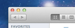 MacOS X Lion Buttons