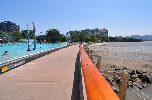 Cairns Water Park Off Mud Flats
