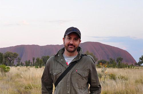 Dave2 at Uluru