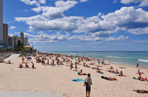 Gold Coast - Surfers Paradise Beach