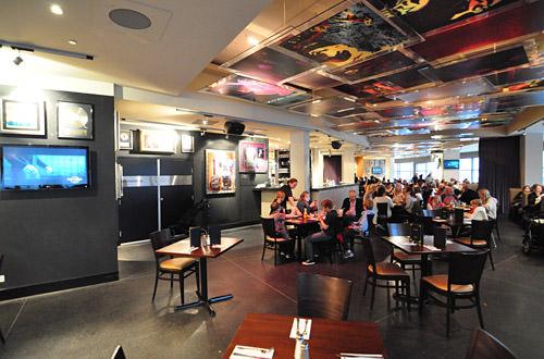 Hard Rock Cafe Sydney Spaces