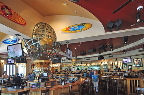 Hard Rock Surfers Paradise Interior