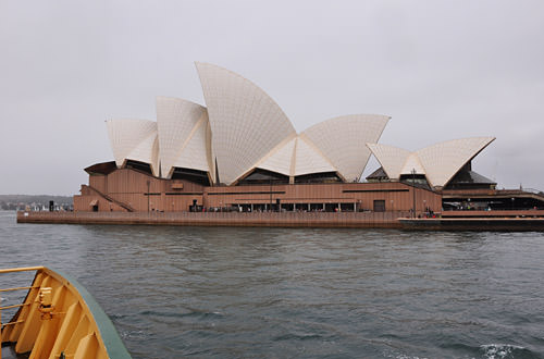 Opera House from Manly Ferry