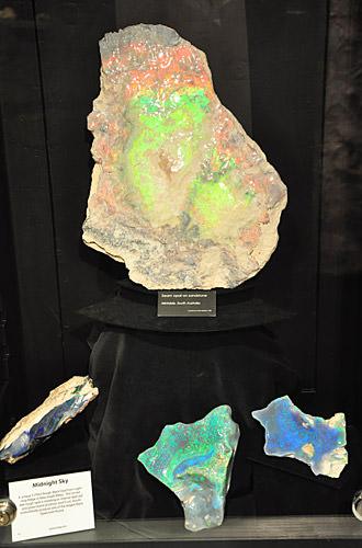 Massive Opals in a Vault