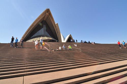 Opera House Steps