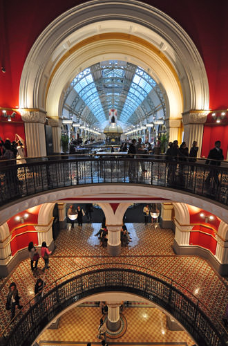 Queen Victoria Building Atrium