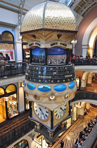 Queen Victoria Building Clock