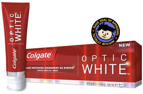 DAVE APPROVED: Colgate Optic White