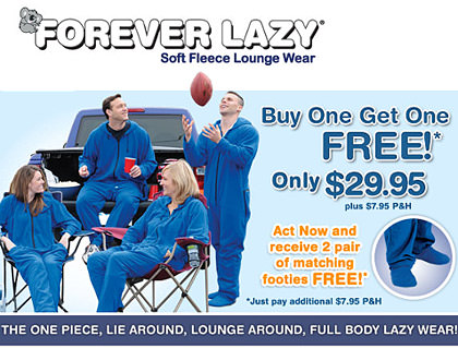 Forever Lazy Jumper Commercial