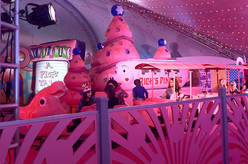 The Pink Pig Train!