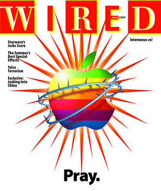 Wired Cover Apple Pray
