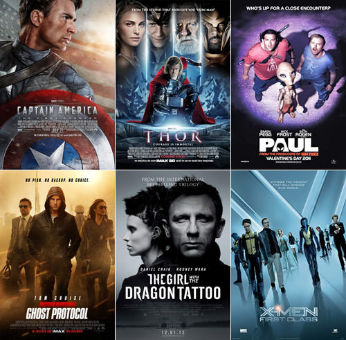 Dave's Favorite Movies 2011: 1-6
