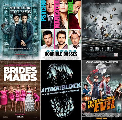 Dave's Favorite Movies 2011: 7-12