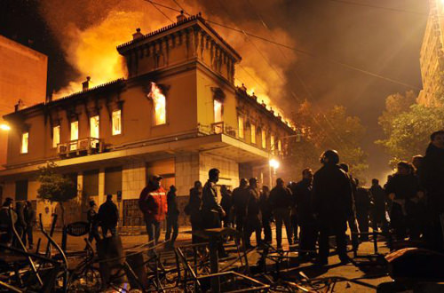 Greece on Fire