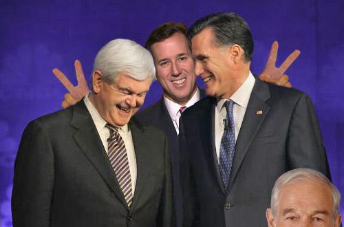 Heeeeeeere's Santorum