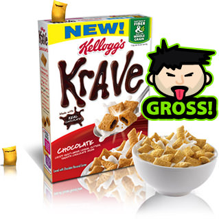 KRAVE is SO gross!