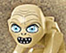 SCARY LEGO Gollum!