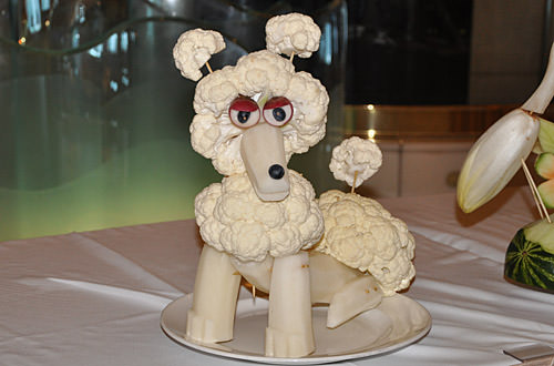 Poodle Carving