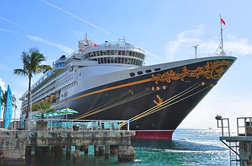 Disney Magic Docked in Key West