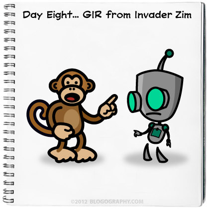 Bad Monkey and GIR
