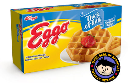 Eggo Thick and Fluffy Waffles