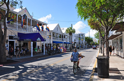 Downtown Key West