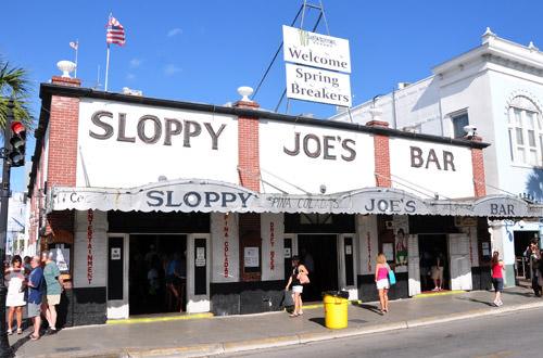 Slopy Joe's Bar in Key West