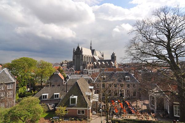 View from Leiden Citadel